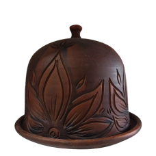 Глиняная форма для хлеба, купол 20см*22см Олег Пекар