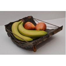 Подставка под фрукты из ореха покрыты лаком Osmo 24