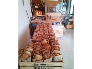 Пшеничный подовый хлеб на закваске