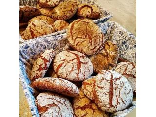 Ржаной подовый хлеб на закваске