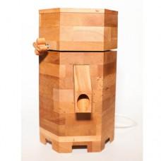 Мельница электрическая для зерна из массива бука