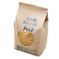 Семена белого льна БИО, 1 кг.