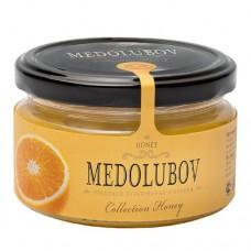 Крем-мёд Медолюбов с апельсином 250мл