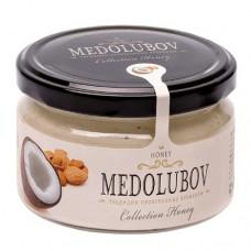 Крем-мёд Медолюбов кокос с миндалем 250мл