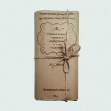 Темный шоколад ручной работы на меду с орехами и сухофруктами