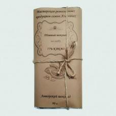 Темный шоколад ручной работы на меду