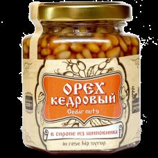 Кедровый орех в сиропе из шиповника, 220 г