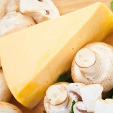 Сыр Грибной чесночный (белые грибы, укроп, чеснок), 100 гр.