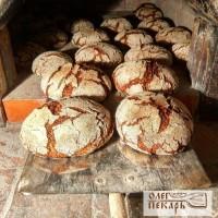 Ржаной подовый хлеб на закваске.